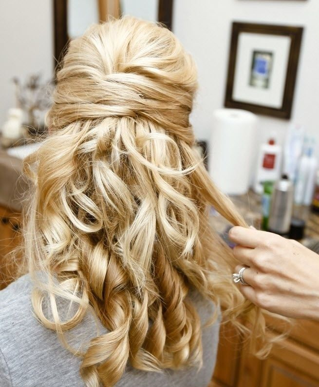 99 Wonderful Bridesmaid Hairstyles for Long Hair