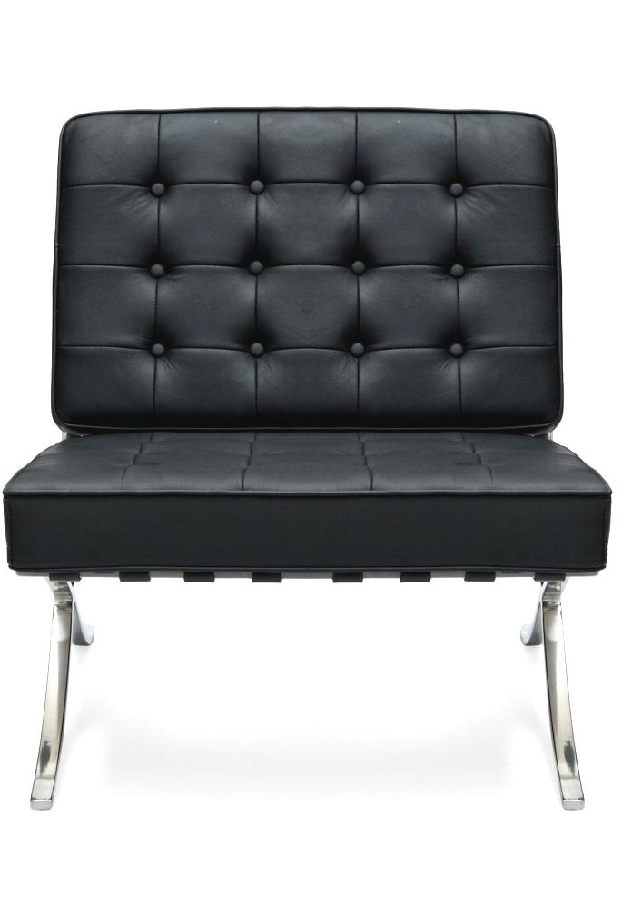 Barcelona Style Chair, in Black  Leather, sharing luxury designer home decor inspirations and ideas for beautiful living rooms, dinning rooms, bedrooms & bathrooms inc furniture, chandeliers, table lamps, mirrors, art, vases, trays, pillows, accessories & gift courtesy of InStyle Decor Beverly Hills enjoy & happy pinning