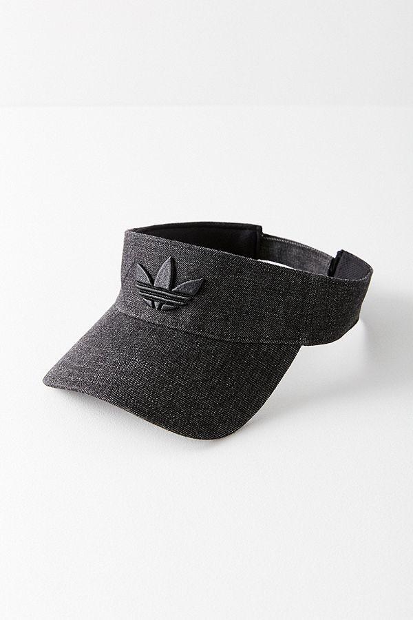832639cfbacd8 adidas originals black trefoil visor  SS2019  lunartauridesign Wide Brimmed  Hats