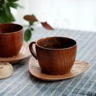 260 мл естественно мармелад деревянный брусок чашки кружки с рукоятки кофе , чай молока путешествия вино пивные кружки для домашнего бара