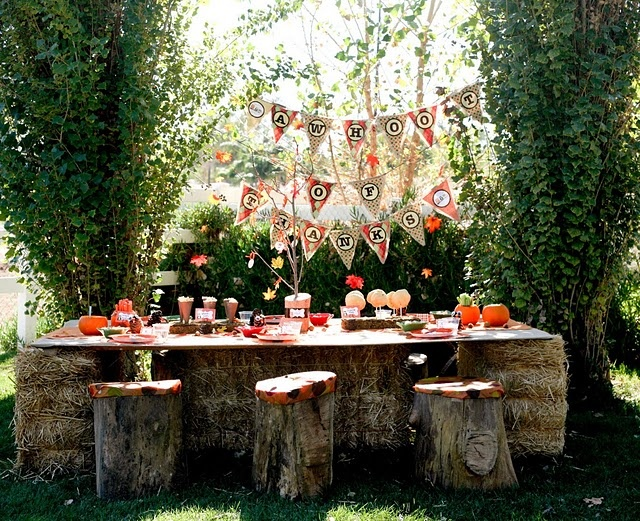 very cute owl-themed party