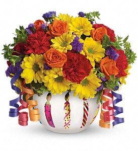 Teleflora's Brilliant Birthday Blooms http://www.parkavenueflorist.net/orange-park-flowers/telefloras-brilliant-birthday-blooms-372956p.asp?rcid=84&point=1
