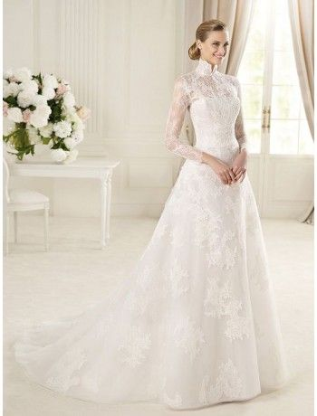 old fashion wedding dresses with long sleeves | Factors Help Long-sleeved Wedding Dresses Popular dans wedding dresses ...