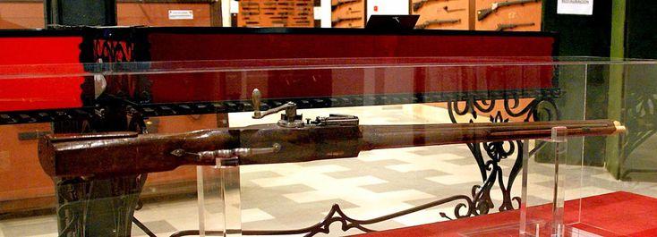 Arcabuz de llave de rueda, Museo Histórico Militar de Sevilla,