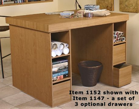 Large Craft And Hobby Table Is Counter Height For Easy Crafting Or Cutting  Our Patterns,