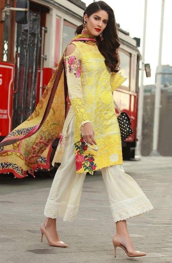 Hd Images Of Latest Suit Designs 2018 For Ideas Pakistani Summer Dresses Fashion Latest Suit Design