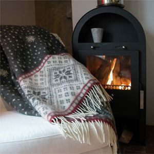 The Snow throw is a cozy, warm and beautiful blanket that is perfect to use during the cold winter nights!