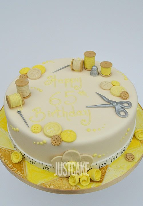 Sewing and Hobby Birthday Cake by Just Cake of Norfolk