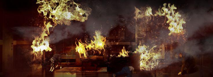 FLIR Thermal Firefighting Simulator