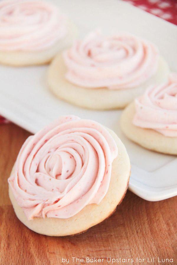 Strawberry Lemonade Sugar Cookies