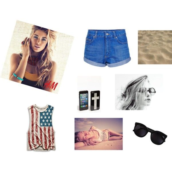 """summer time beach fun"" by tactica on Polyvore"