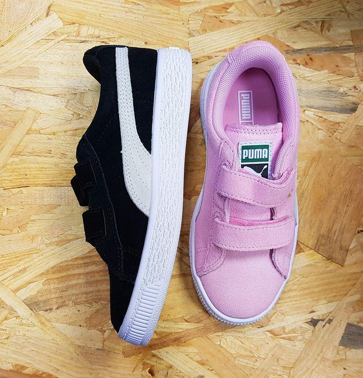 Les nouvelles Puma Suede pour les enfants ! #puma #shoes #chaussures #kids #chaussuresonline #enfants #basket #sneakers #fashion #look #ootd #scratch #velcro #printemps #ete #summer #spring #jeans #children #tenue