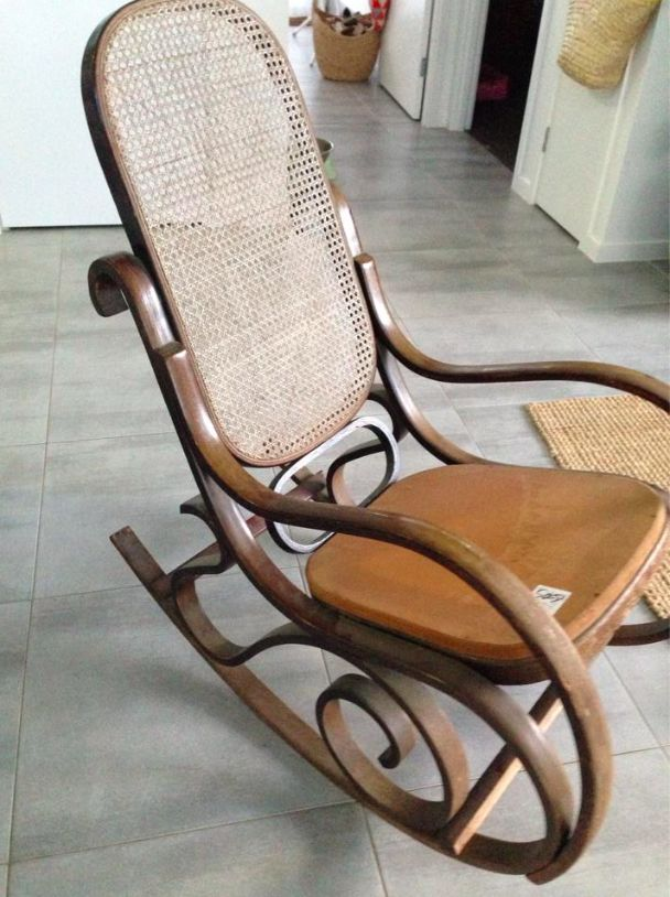 Old rocker - I dream of having this on my porch one day (will require a new house so it might be a while).