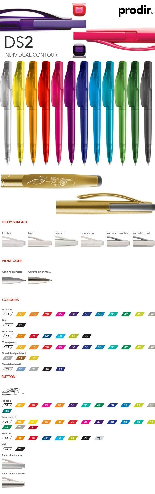 DS2 Prodir.. Wat een mooie pen en ook nog voor een mooie prijs!