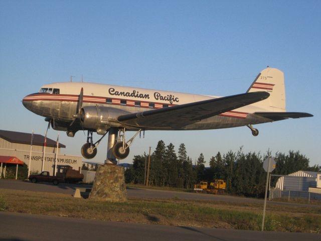 Yukon Transportation Museum on the Alaska Highway in Whitehorse.
