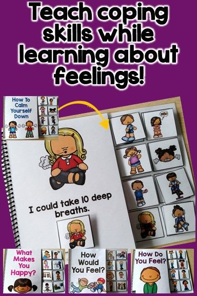 These interactive books are perfect for teaching students about feelings. You can target identifying feelings, coping skills and what types of things make you happy. My students with autism need a lot of visual supports to grasp these concepts. These adapted books have been a life saver!