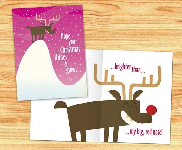 21 best Christmas Card Designs images on Pinterest Beautiful - greeting card templates