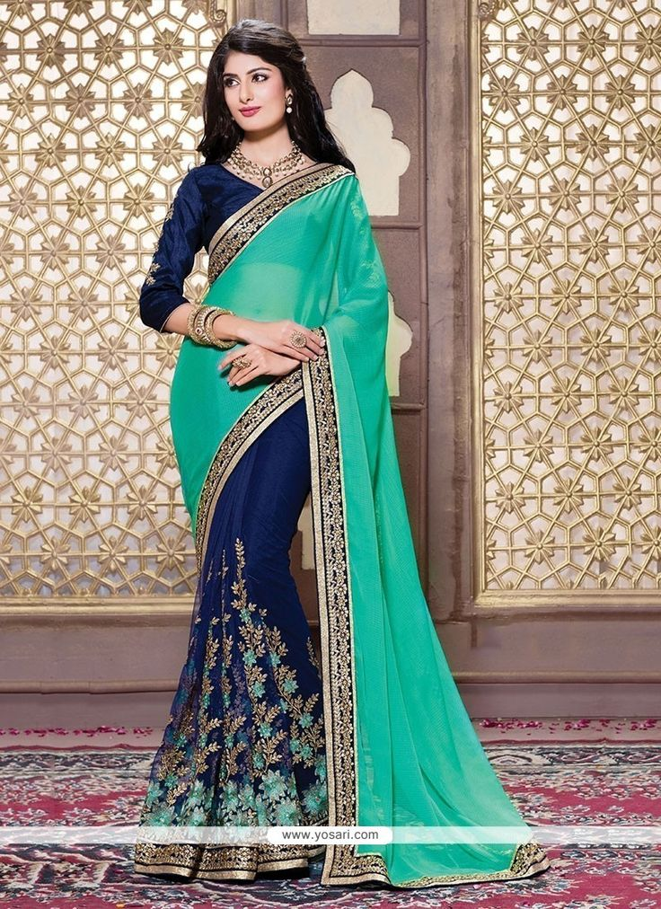 Intriguing Net Designer Saree Model: YOSAR7390                                                                                                                                                                                 More