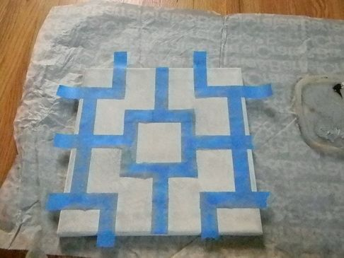 """Pattern for home made """"art"""""""