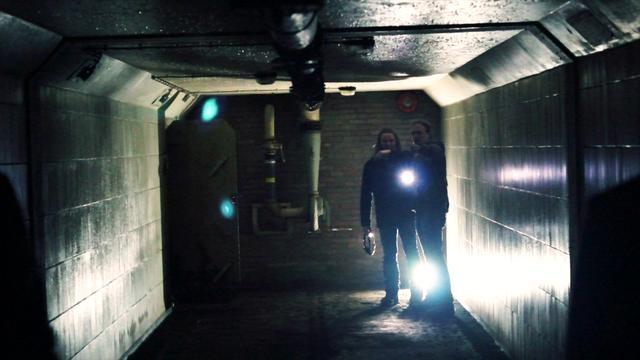 Een Arnhemse schuilkelder ging voor eventjes open...