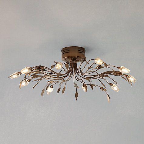 Buy John Lewis Olea Ceiling Light 10 Arm Online At Johnlewis