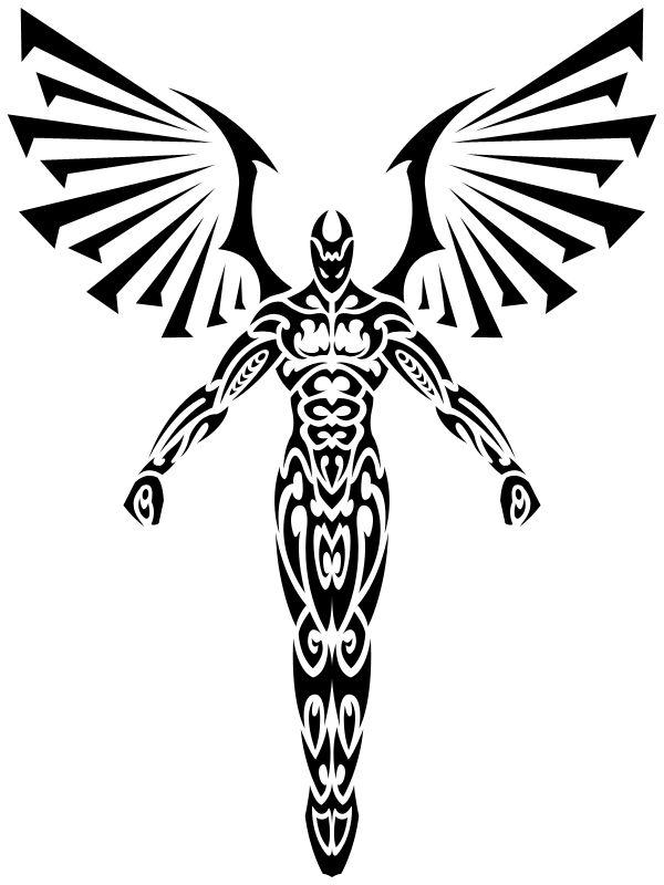 Tribal Angel 2 by Shadow696.deviantart.com