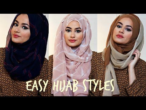 Hijab Tutorial For Easy Hijab Styles! | Hijab Hills - YouTube