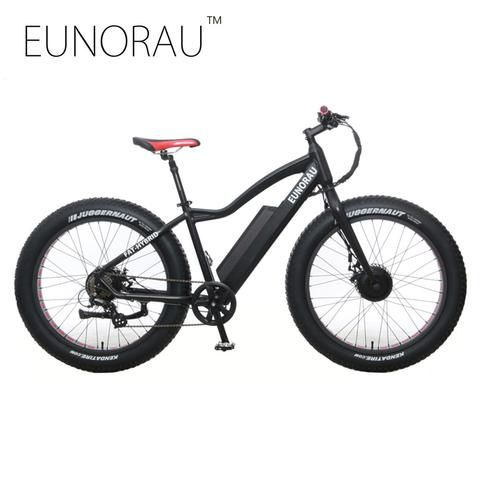 26x4.0 inch Fat tire Electric Fat bike 2WD Electric bike 250W front 35 – Save Major