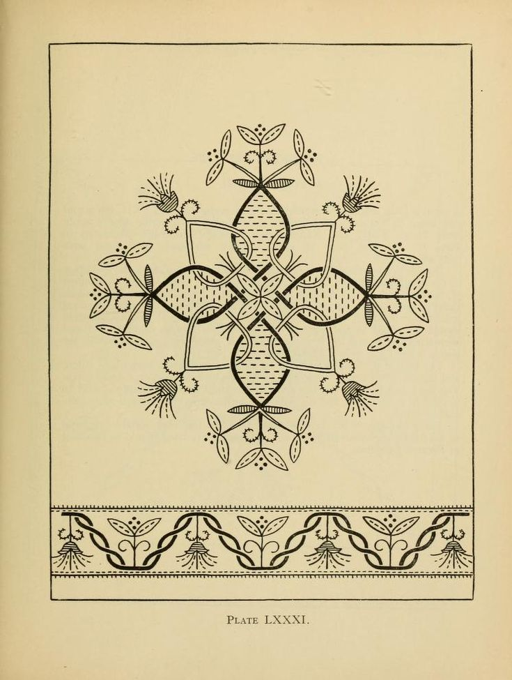 """""""An embroidery pattern book"""" - click through to read free on-line vintage book"""