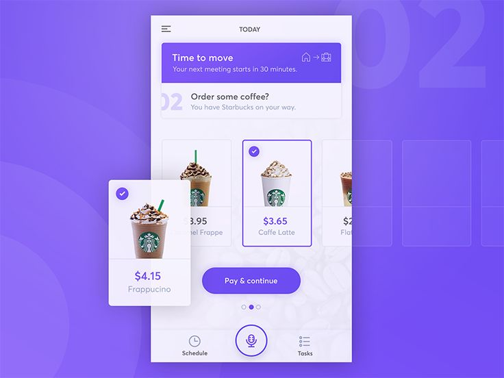 Personal Assistant App - Order Coffee