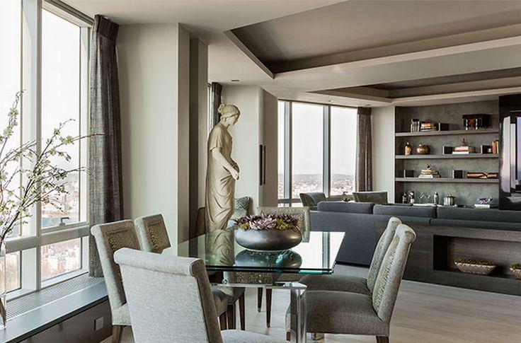 Attractive High Rise | Daher Interior Design