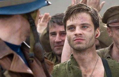 映画「キャプテン・アメリカ」で馬っきー役を演じた俳優 セバスチャン・スタン