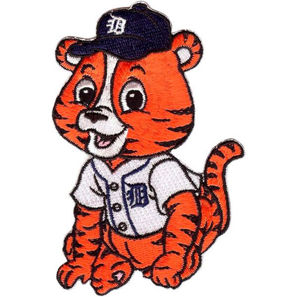 Detroit Tigers Baby Mascot Embroidered Patch