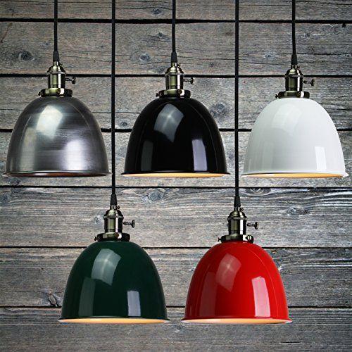 Metal Ball Lamp Shade: Buyee® Vintage Light Bulb Retro Industrial Edison Half