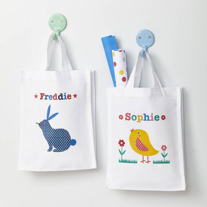 43 best personalised easter gifts images on pinterest tillie mint childs personalised easter egg hunt bag negle Choice Image