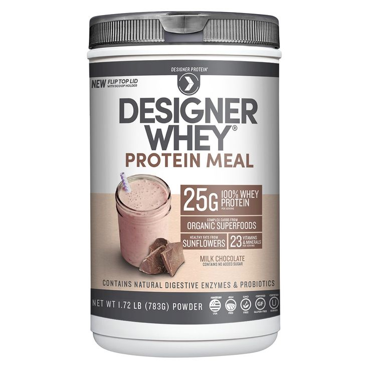 Designer Whey Protein Meal - Milk Chocolate - 1.72lbs