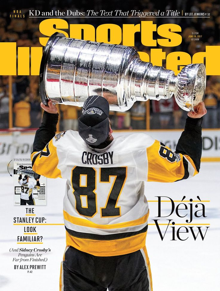 SI Cover - Pittsburgh Penguins; 2017 Stanley Cup Champions