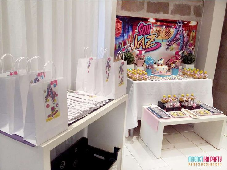 Jaz's Soy luna party | CatchMyParty.com