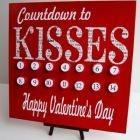 V-Day Countdown: Valentines Crafts, Valentines Ideas, Crafts Ideas, Decor Ideas, Countdown Calendar, Valentines Day Ideas, Cute Ideas, Advent Calendar, Hershey Kiss