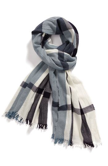 Burberry men's scarf