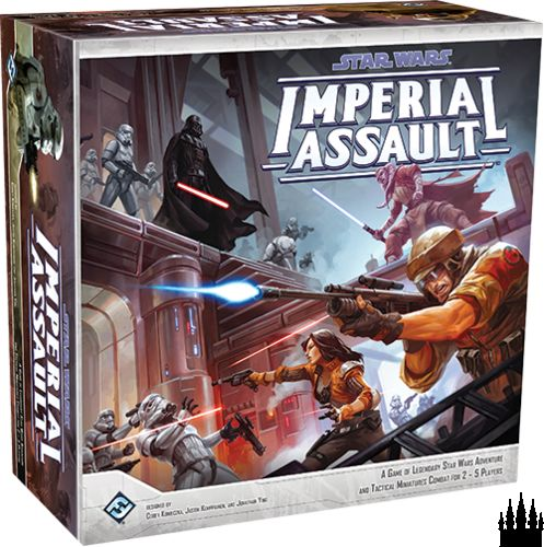 Star Wars: Imperial Assault casts you and your friends into the climatic events following the Death Star's destruction above Yavin 4, and offers two full game experiences within the Star Wars saga. In the campaign game, you and up to four other friends play a series of thrilling missions woven together in a narrative campaign, and in the skirmish game, you and your opponent muster your own strike teams and battle head-to-head over conflicting objectives.