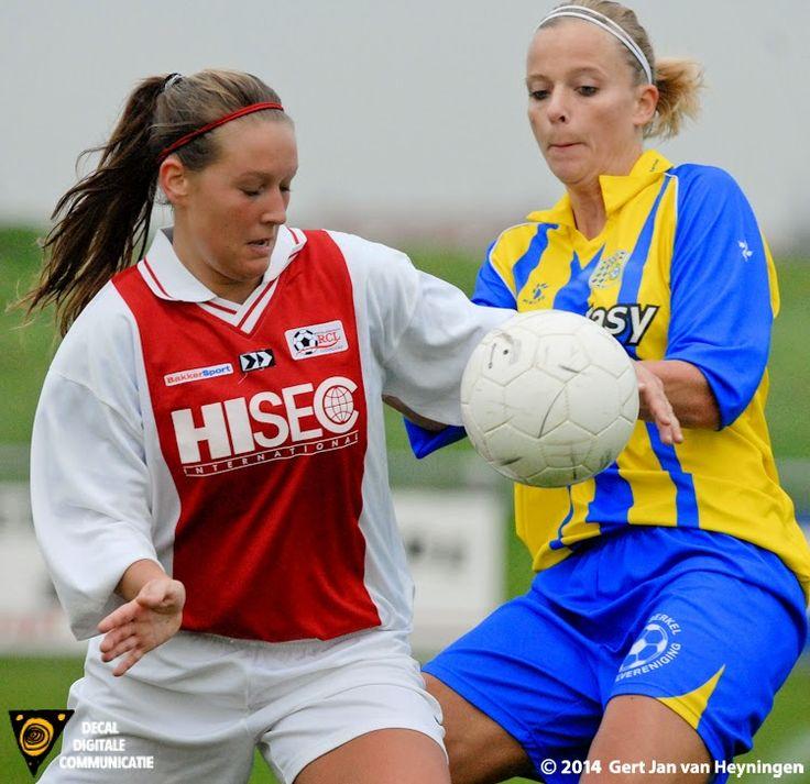Janneke Westerhof in duel met Ramona van der Harst
