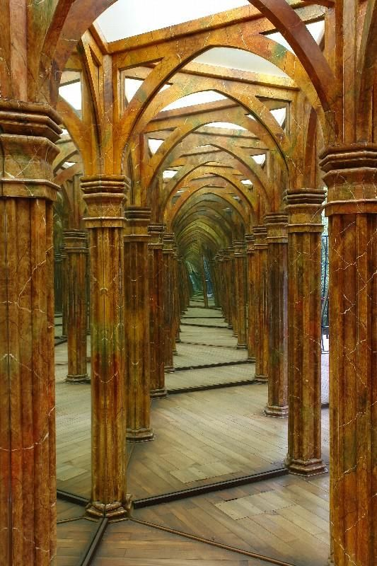 Petrin Mirror maze, Prague - from 1891. There are mirrors that make you look tall, short, fat or skinny - big fun not only for kids! You' ll find it just next to the petrin Observatory tower, Petrin park, the furnicular and Prague castle area.