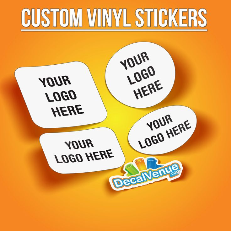 Set of 100 Custom Trademark Logo Vinyl Stickers #decalvenue #stickers #decals
