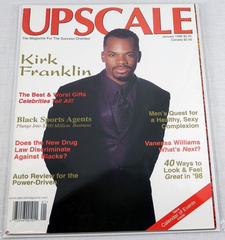 Upscale magazine january 1998 kirk franklin bishop keith for Studio 54 oviedo