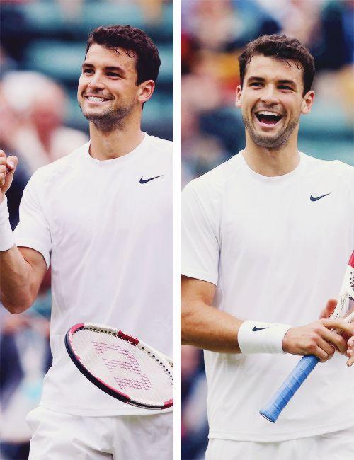 Grigor Dimitrov- upcoming rising tennis star. Cute & talented Bulgarian stud <3 x babyyy