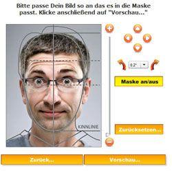 Ảnh hộ chiếu du học Đức (Passfoto)