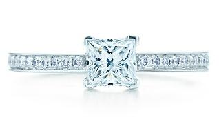 Tiffany & Co. - Tiffany Grace 0.5 karat - $4,300 :) LOVE IT. THIS is what I want.