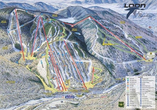 Where to Ski: Loon Mountain Resort, New Hampshire | TheSkiMonster.com  ~Loon Mountain~