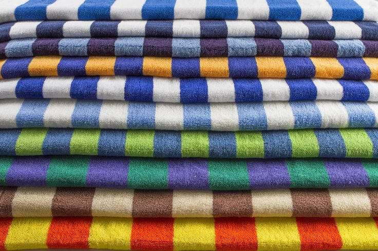 Waste your colorful swimming time with IndoLinen Stripe Towel  collections.